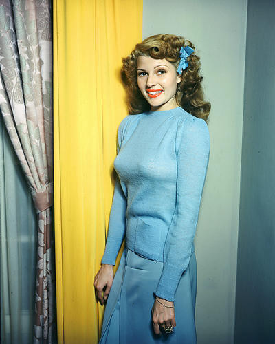 This is an image of 280940 Rita Hayworth Photograph & Poster