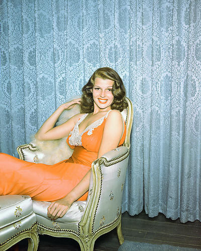 This is an image of 280945 Rita Hayworth Photograph & Poster