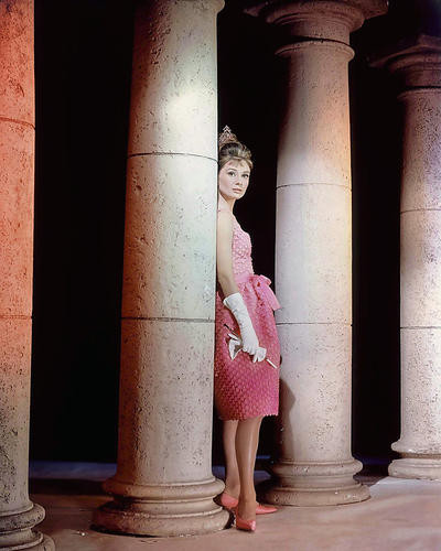 This is an image of 281011 Audrey Hepburn Photograph & Poster