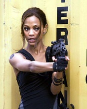 This is an image of 281230 Zoe Saldana Photograph & Poster