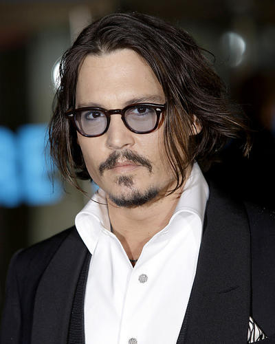This is an image of 281708 Johnny Depp Photograph & Poster
