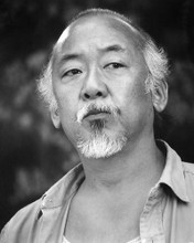 This is an image of 192402 Pat Morita Photograph & Poster