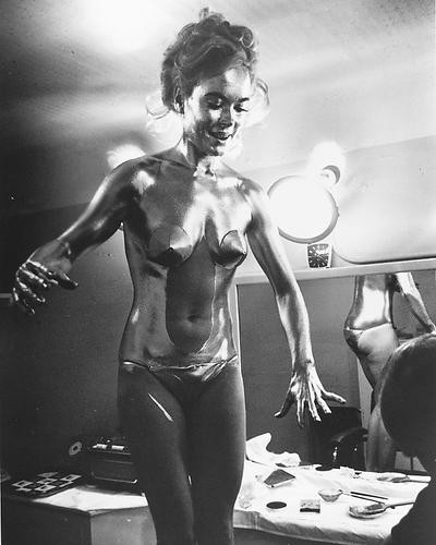 This is an image of 170711 Shirley Eaton Photograph & Poster