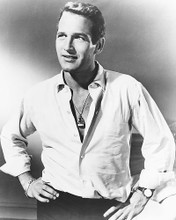 This is an image of 169358 Paul Newman Photograph & Poster