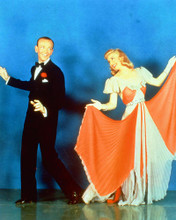 This is an image of 226528 Fred Astaire & Ginger Rogers Photograph & Poster