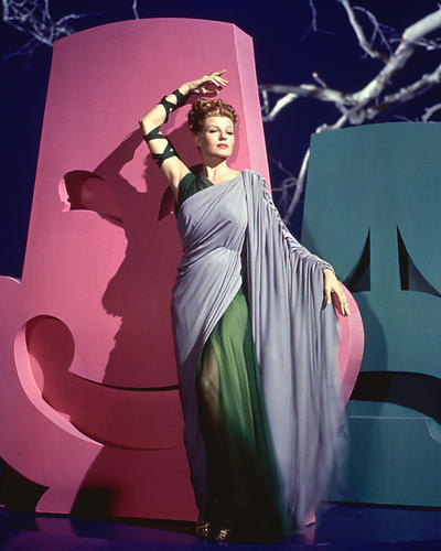 This is an image of 226644 Rita Hayworth Photograph & Poster