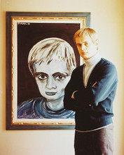 This is an image of 231099 David McCallum Photograph & Poster
