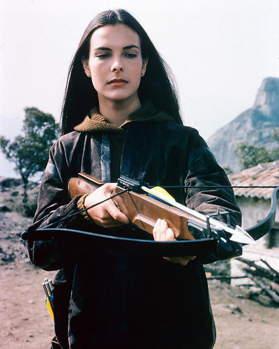 This is an image of 249054 Carole Bouquet Photograph & Poster