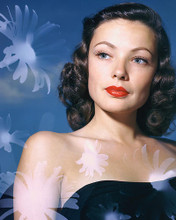 This is an image of 251794 Gene Tierney Photograph & Poster