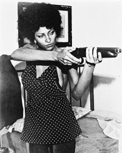 This is an image of 168066 Pam Grier Photograph & Poster