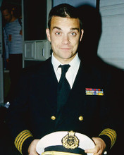 This is an image of 254232 Robbie Williams Photograph & Poster