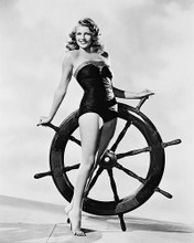 This is an image of 169711 Rita Hayworth Photograph & Poster