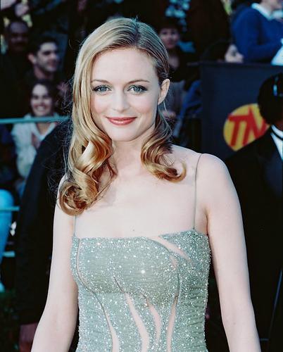This is an image of 237972 Heather Graham Photograph & Poster