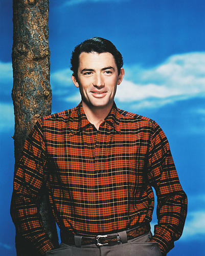 This is an image of 238098 Gregory Peck Photograph & Poster