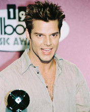 This is an image of 240540 Ricky Martin Photograph & Poster