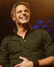 This is an image of 255740 Ricky Martin Photograph & Poster