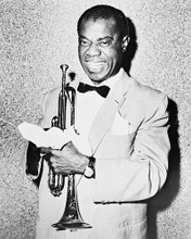 This is an image of 170462 Louis Armstrong Photograph & Poster