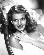 This is an image of 173182 Rita Hayworth Photograph & Poster