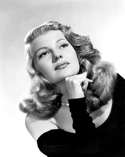 This is an image of 173183 Rita Hayworth Photograph & Poster