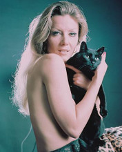 This is an image of 246542 Ingrid Pitt Photograph & Poster