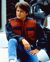 This is an image of 256710 Michael J.Fox Photograph & Poster