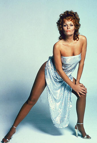 This is an image of 256843 Valerie Perrine Photograph & Poster