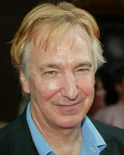 This is an image of 262389 Alan Rickman Photograph & Poster