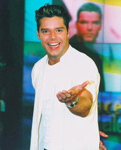 This is an image of 253323 Ricky Martin Photograph & Poster