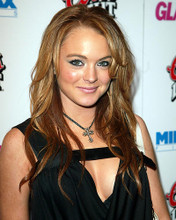 This is an image of 259072 Lindsay Lohan Photograph & Poster