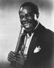 This is an image of 175637 Louis Armstrong Photograph & Poster