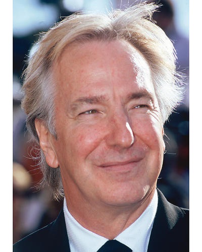 This is an image of 263278 Alan Rickman Photograph & Poster