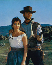 This is an image of 264541 A Fistful of Dollars Photograph & Poster