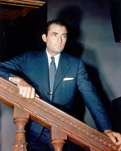 This is an image of 265636 Gregory Peck Photograph & Poster