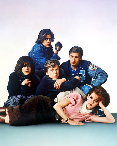 This is an image of 269272 The Breakfast Club Photograph & Poster
