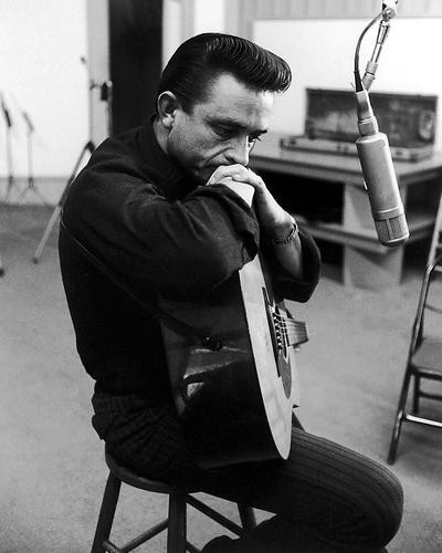 This is an image of 186189 johnny cash photograph poster