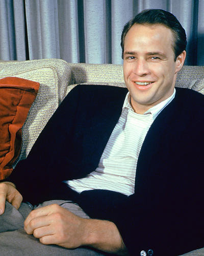 This is an image of 274299 Marlon Brando Photograph & Poster