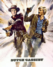 This is an image of 276013 Butch Cassidy and the Sundance Kid Photograph & Poster