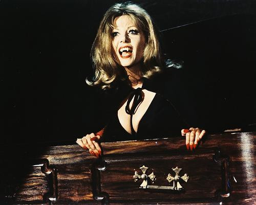 This is an image of 212811 Ingrid Pitt Photograph & Poster