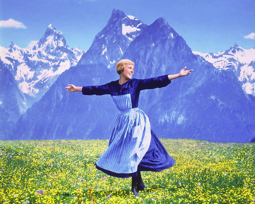 This is an image of 220967 Julie Andrews Photograph & Poster