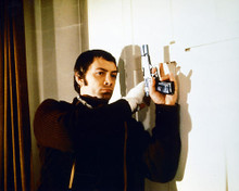 This is an image of 222550 Lewis Collins Photograph & Poster