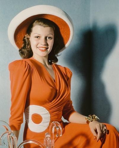 This is an image of 232950 Rita Hayworth Photograph & Poster