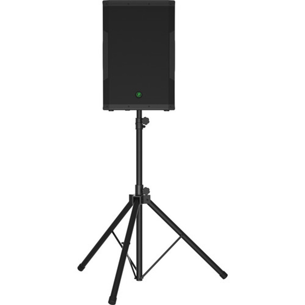 """Mackie SRM650 15"""" PA Powered Speaker with stand"""