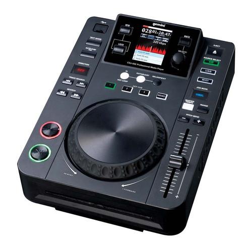 Gemini CDJ-650 DJ Media Player with CD USB and Midi Control