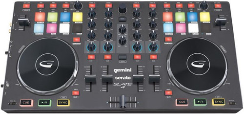 Gemini Slate4 4-Channel DJ MIDI Controller