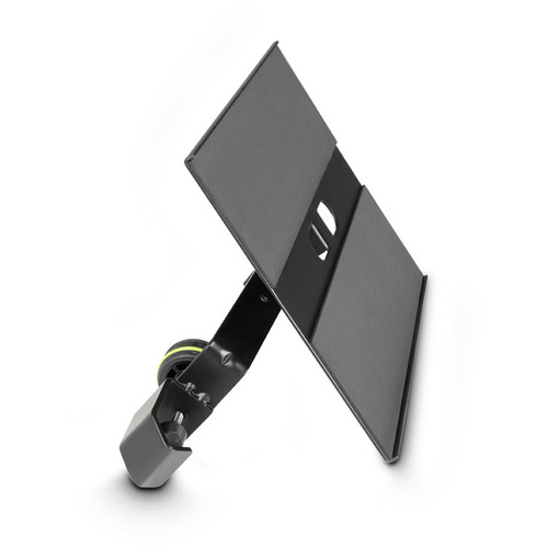 Gravity Adjustable Clamping IPAD Tray For Microphone Stand