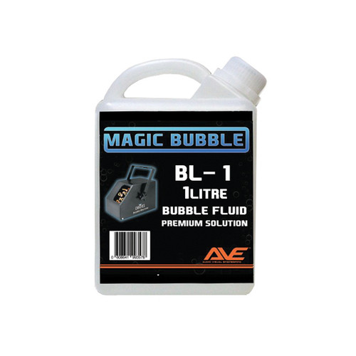 Magic Bubble AVE 1 Litre Bubble Machine Fluid