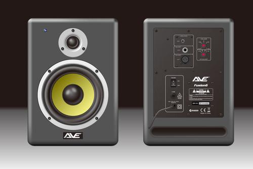 AVE Fusion5 Powered Studio Monitor