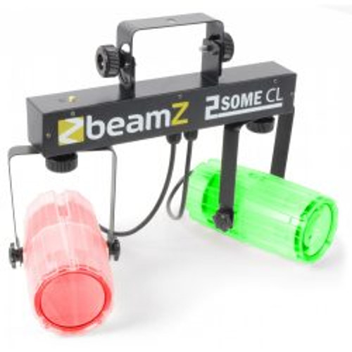 Beamz 2Some-Clear Dual LED DJ Effect Light