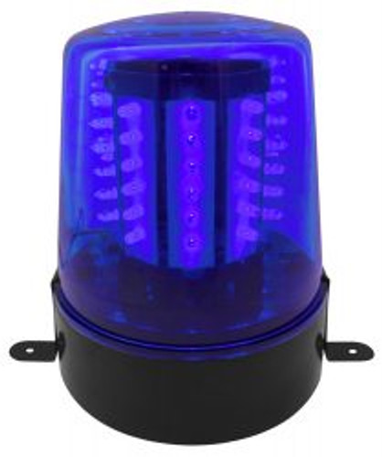 Beamz LED Beacon Blue Police Light Blue