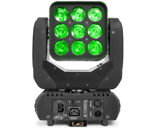 Beamz Matrix33 LED Moving Head Wash